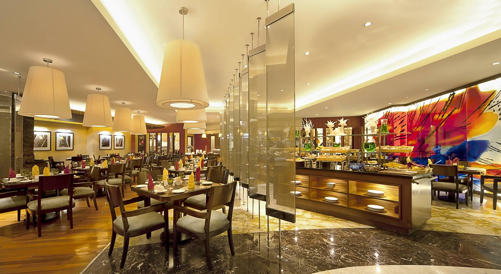 Gulf Hotel Bahrain Best Restaurants And Dining International Buffet Al Waha